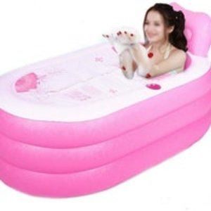 Portable foldable adult SPA inflatable PINK